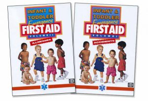 Infant & Toddlers Emergency First Aid - Accidents / Illnesses Combo